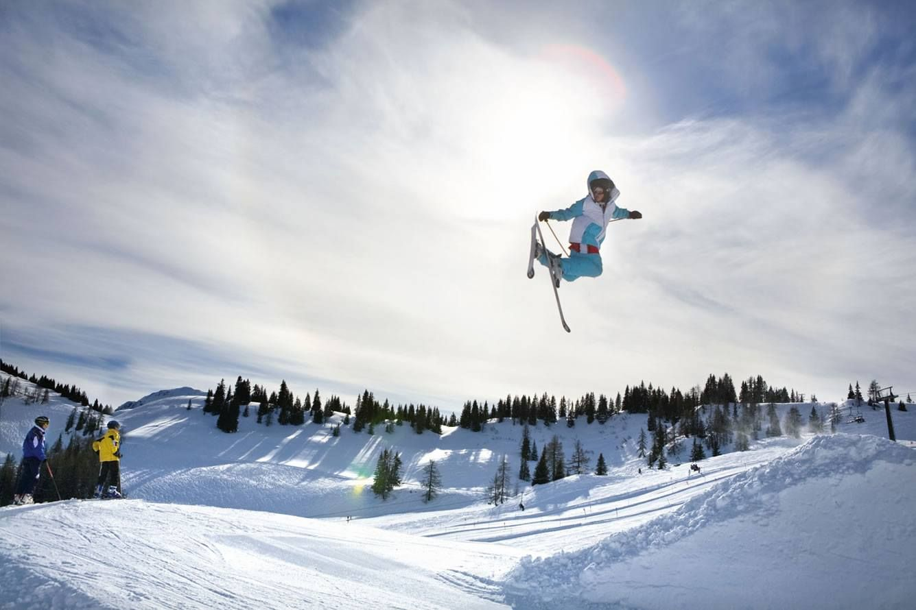 Fun for snowboarder